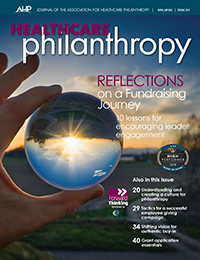 Reflections on a Fundraising Journey