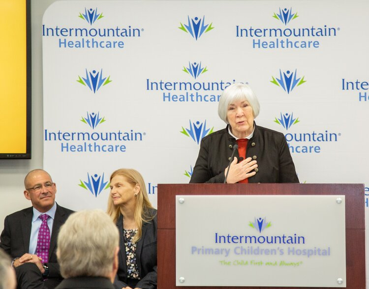 Intermountain Healthcare Celebrates $50 Million Gift